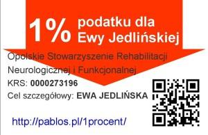 1% dla Ewy Jedlińskiej