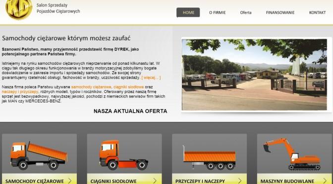 KD Salon Sprzedaży Pojazdów Ciężarowych