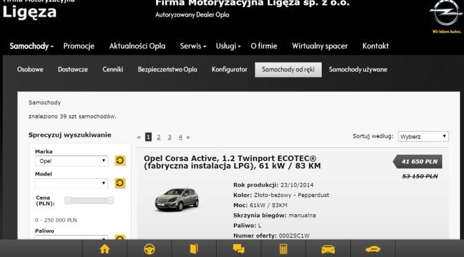 FM Ligęza Dealer GM Poland